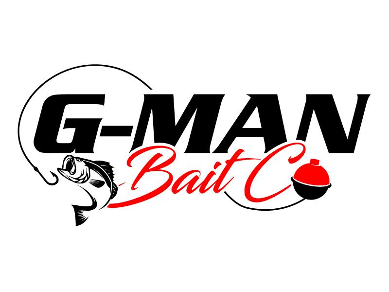 G-Man Bait Co. logo design by daywalker