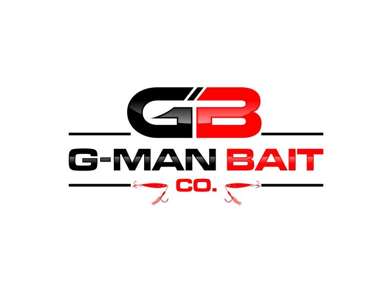 G-Man Bait Co. logo design by GassPoll