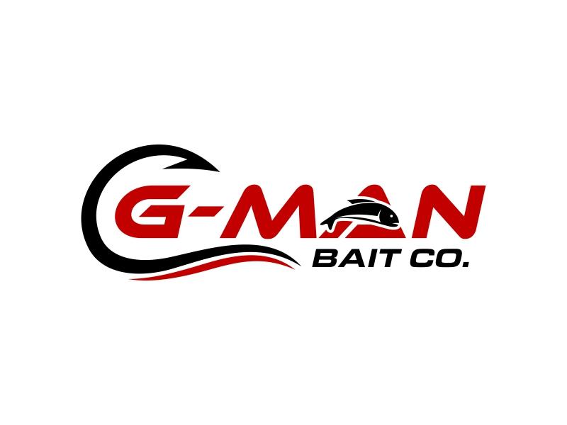 G-Man Bait Co. logo design by ingepro