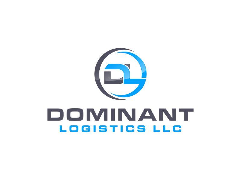 Dominant Logistics LLC logo design by asani