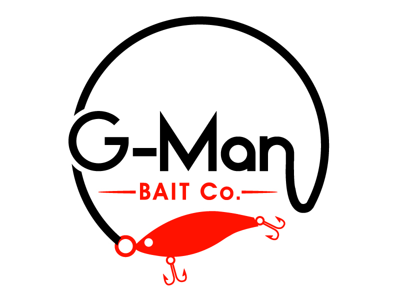 G-Man Bait Co. logo design by PMG