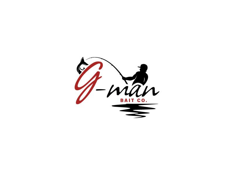 G-Man Bait Co. logo design by Webphixo