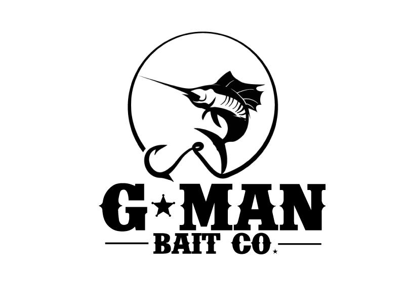 G-Man Bait Co. logo design by ElonStark