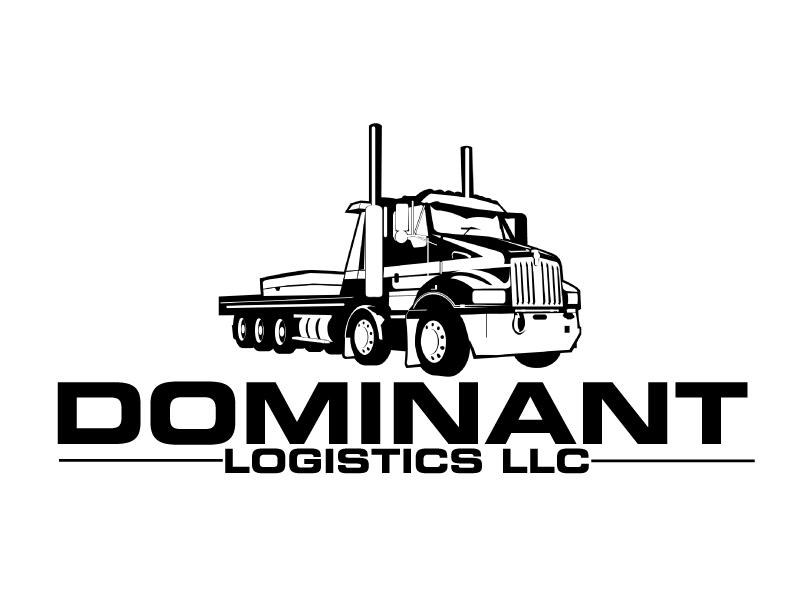 Dominant Logistics LLC logo design by ElonStark