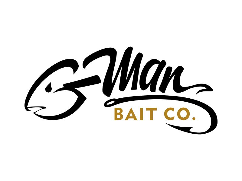 G-Man Bait Co. logo design by aladi