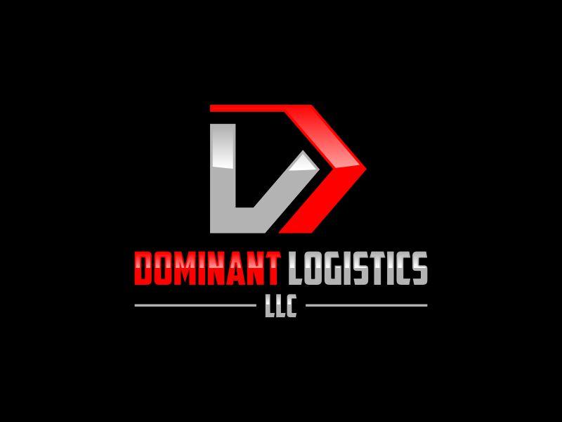 Dominant Logistics LLC logo design by Gopil