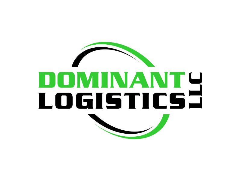Dominant Logistics LLC logo design by Gwerth