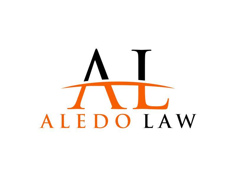 Aledo Criminal Justice or Aledo Law Logo Design