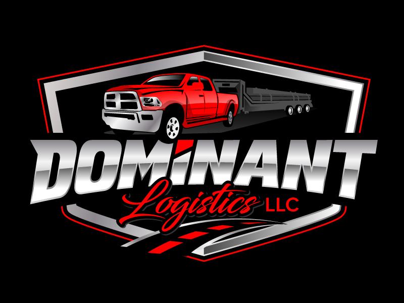 Dominant Logistics LLC logo design by jaize