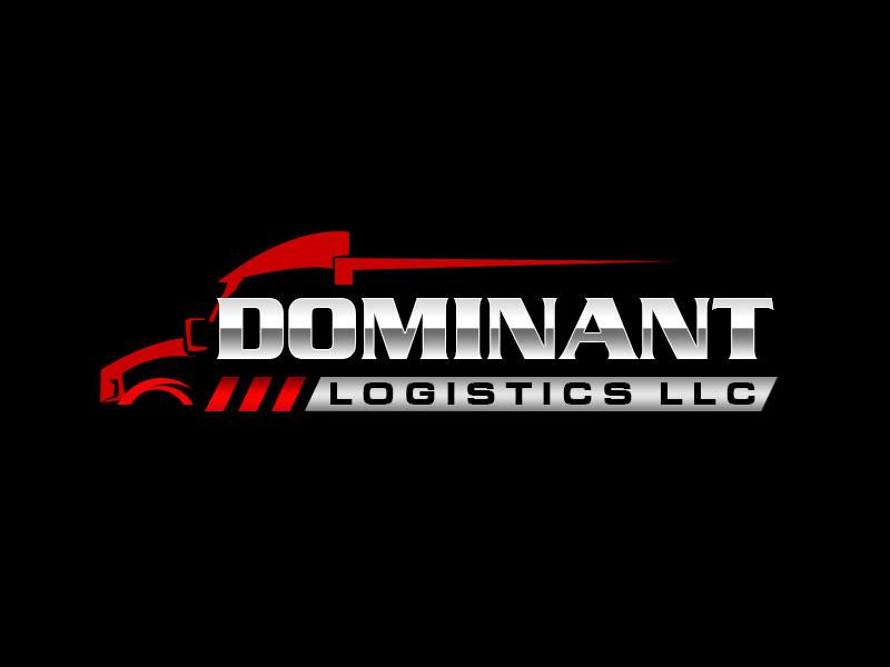 Dominant Logistics LLC logo design by kunejo