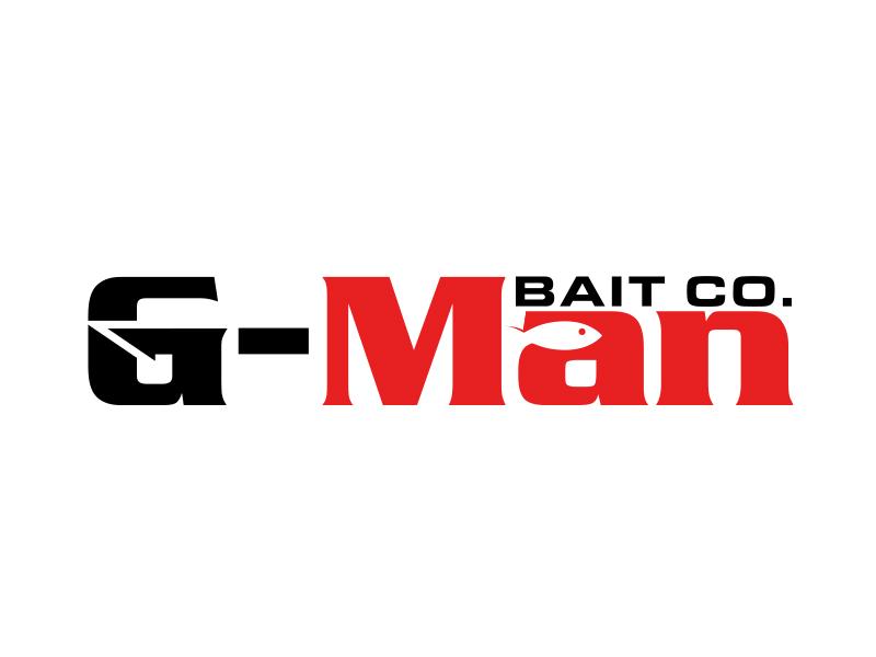 G-Man Bait Co. logo design by MarkindDesign™
