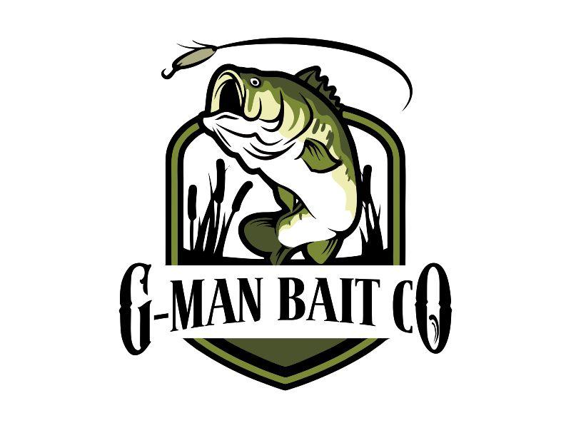 G-Man Bait Co. logo design by Gwerth