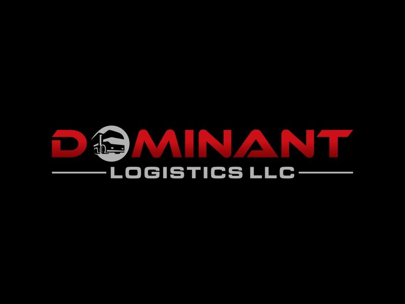 Dominant Logistics LLC logo design by luckyprasetyo