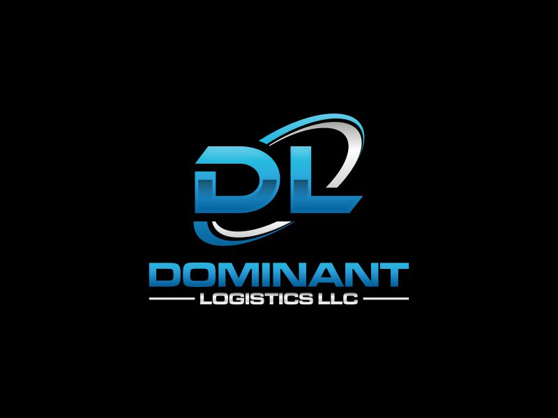 Dominant Logistics LLC logo design by rian38
