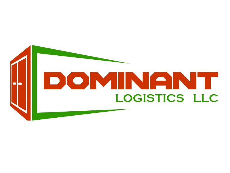 Dominant Logistics LLC logo design by YONK