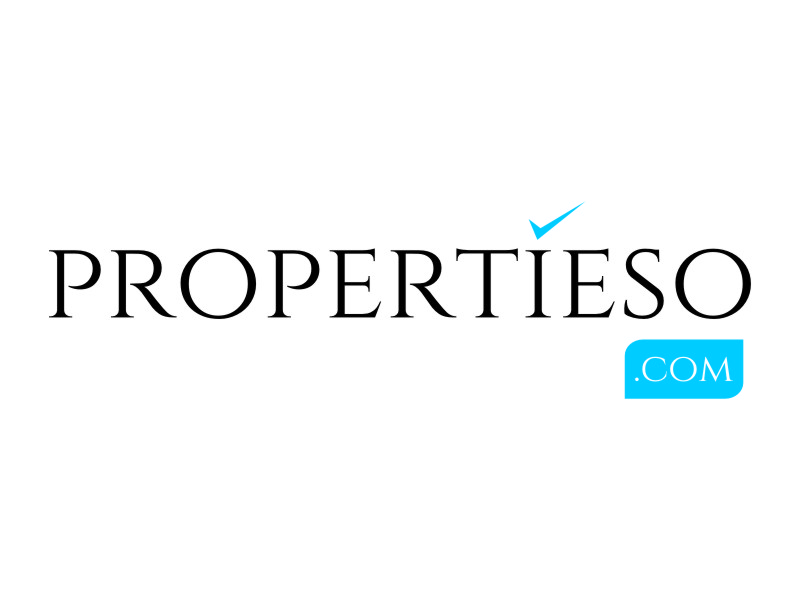 propertieso.com logo design by jetzu