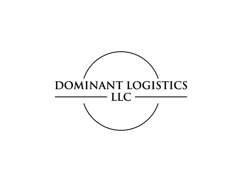 Dominant Logistics LLC logo design by bomie