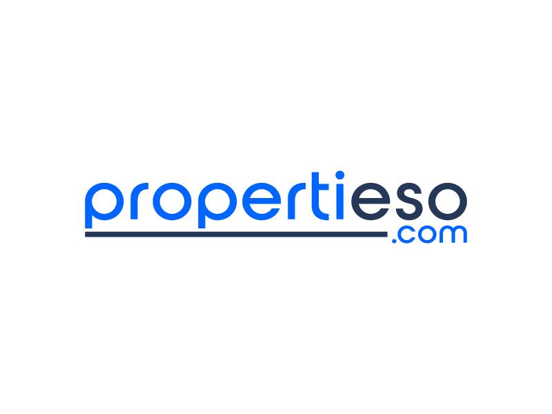 propertieso.com logo design by aganpiki