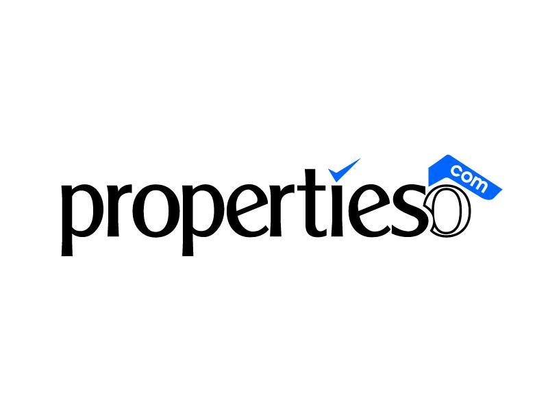 propertieso.com logo design by jaize