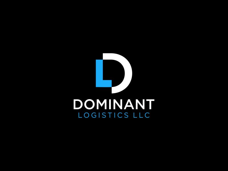 Dominant Logistics LLC logo design by andayani*