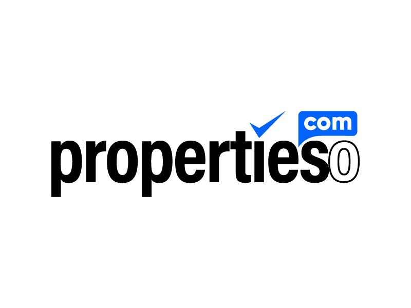 propertieso.com logo design by jonggol