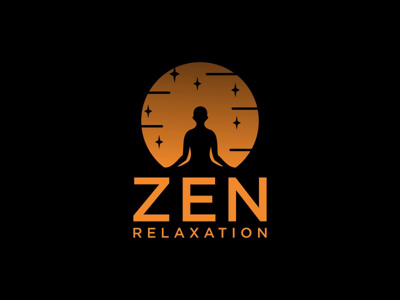 Zen Relaxation logo design by andayani*