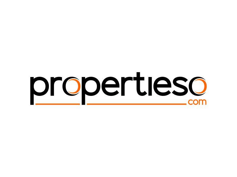 propertieso.com logo design by ubai popi