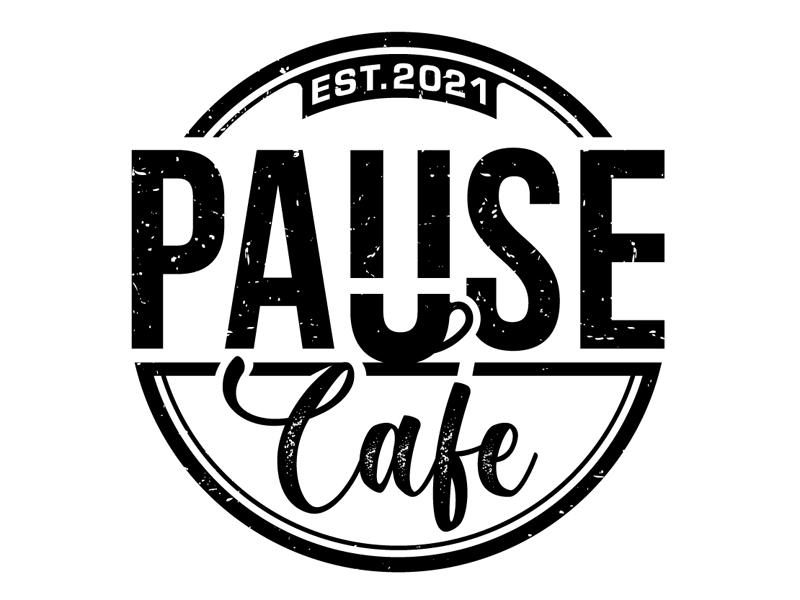 Pause Cafe Logo Design