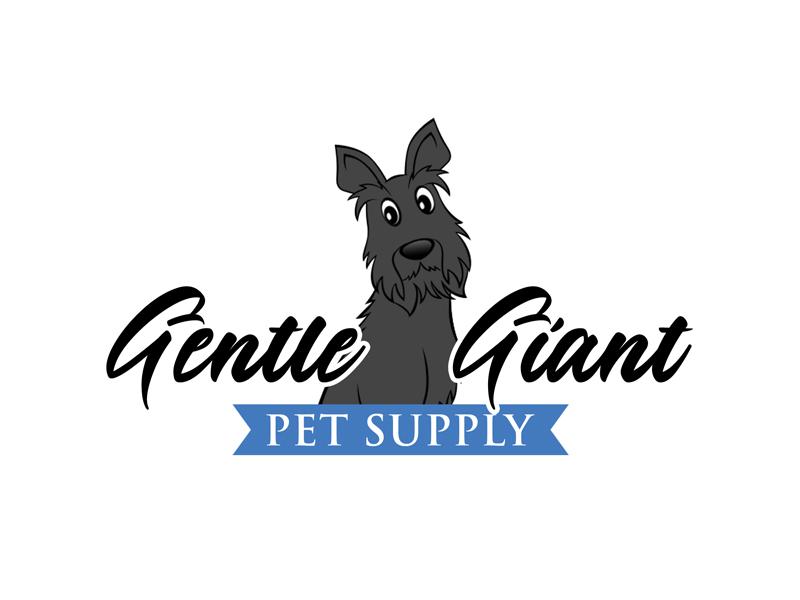 Gentle Giant Pet Supply logo design by ingepro