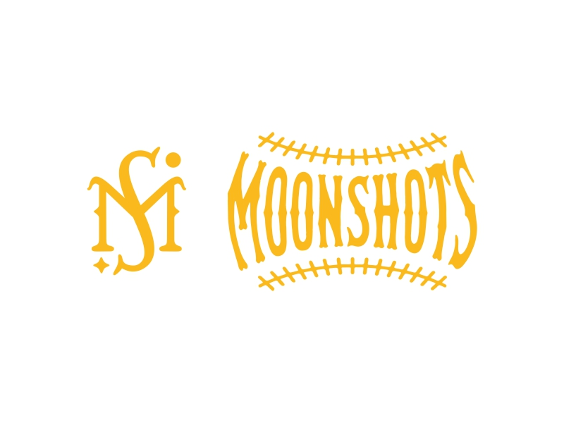 Moonshots Stadium On Wheels Insignia logo design by Shabbir