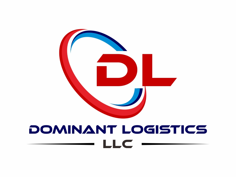 Dominant Logistics LLC logo design by Greenlight