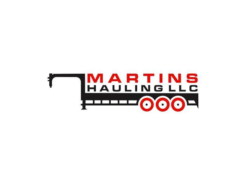 Martins Hauling LLC logo design by Sheilla