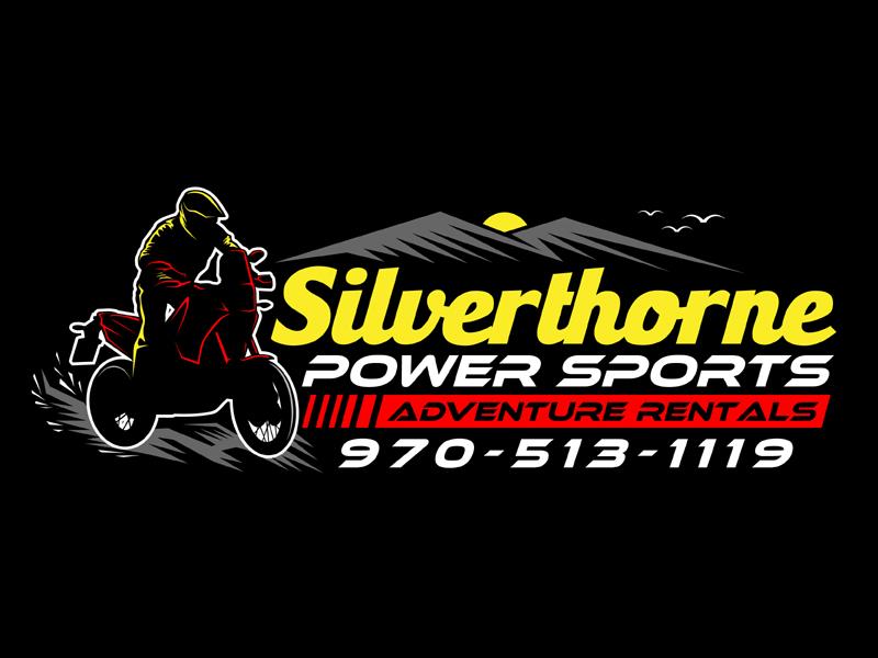 Silverthorne Power Sports Adventure Rentals Logo Design