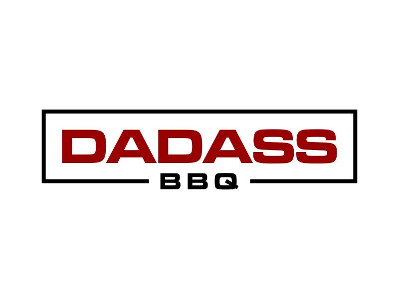 Dadass BBQ logo design by p0peye