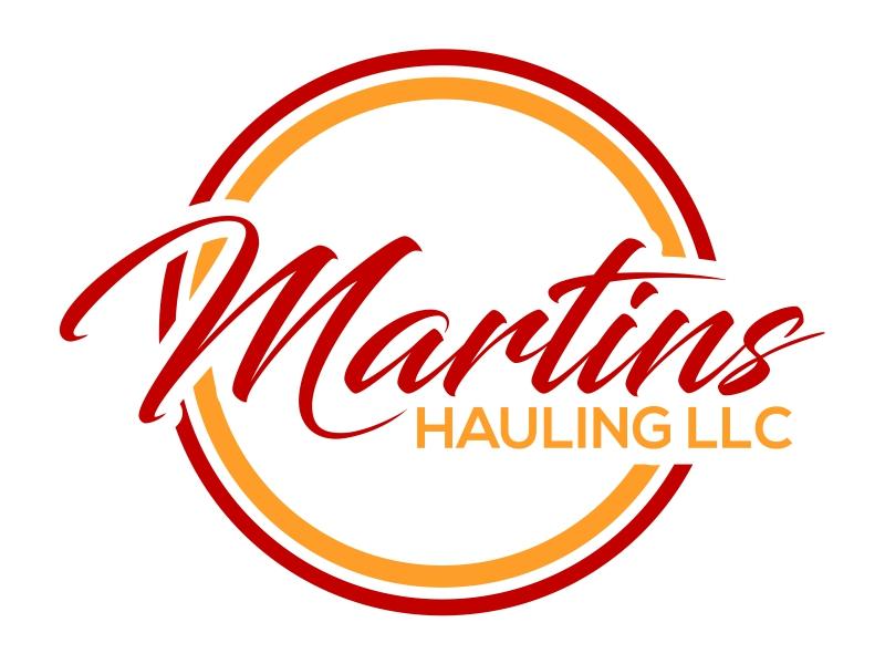 Martins Hauling LLC logo design by cintoko
