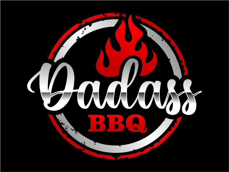 Dadass BBQ logo design by cintoko