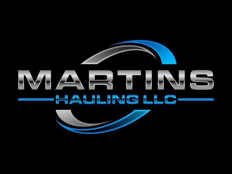 Martins Hauling LLC logo design by glasslogo