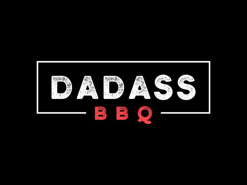 Dadass BBQ logo design by Galfine