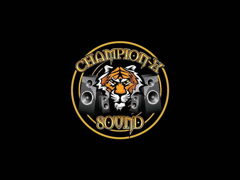 Champion X Sound logo design by Ridho Illahi