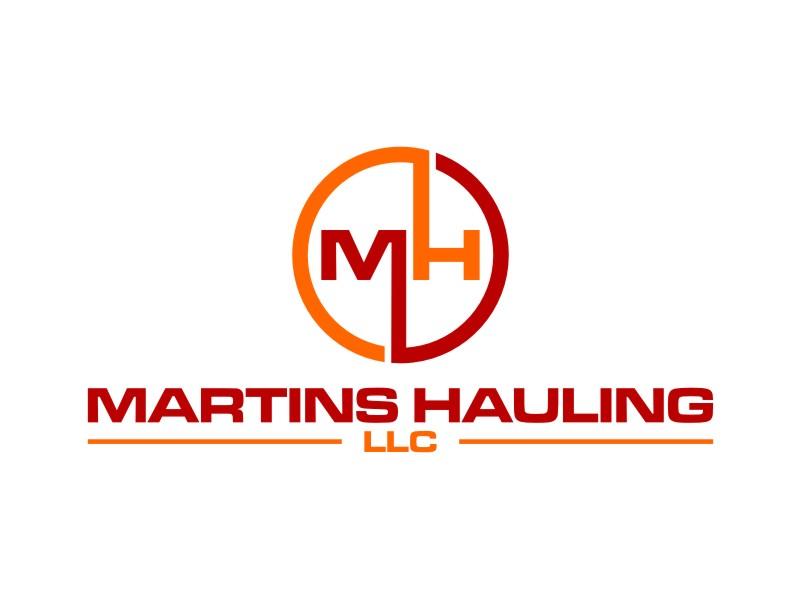 Martins Hauling LLC logo design by rief