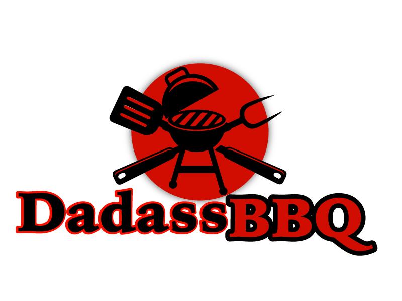 Dadass BBQ logo design by ElonStark