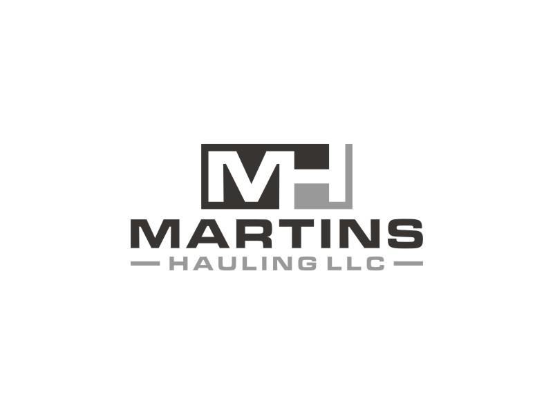 Martins Hauling LLC logo design by Arto moro