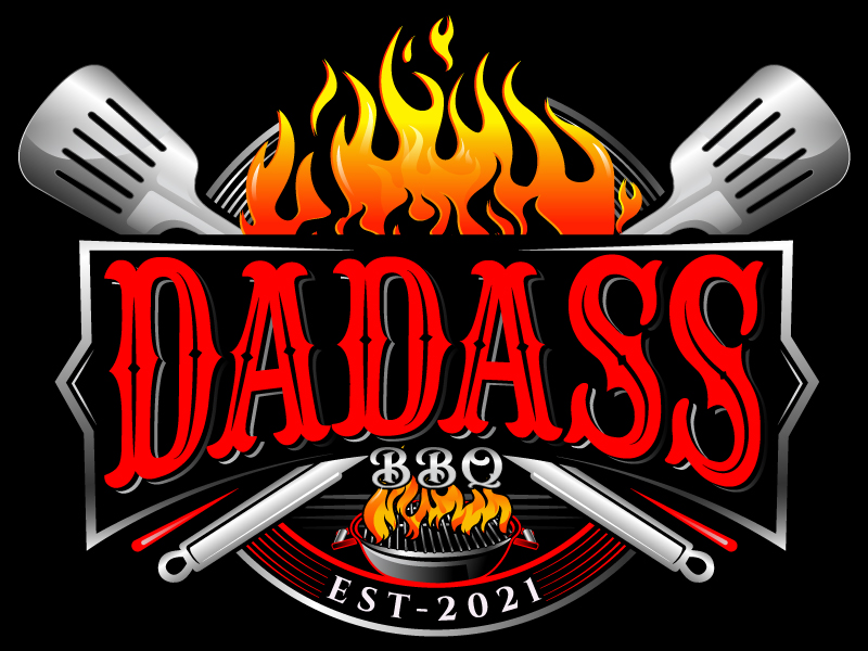 Dadass BBQ logo design by Suvendu