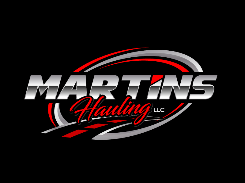 Martins Hauling LLC logo design by jaize