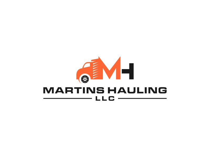Martins Hauling LLC logo design by hoqi
