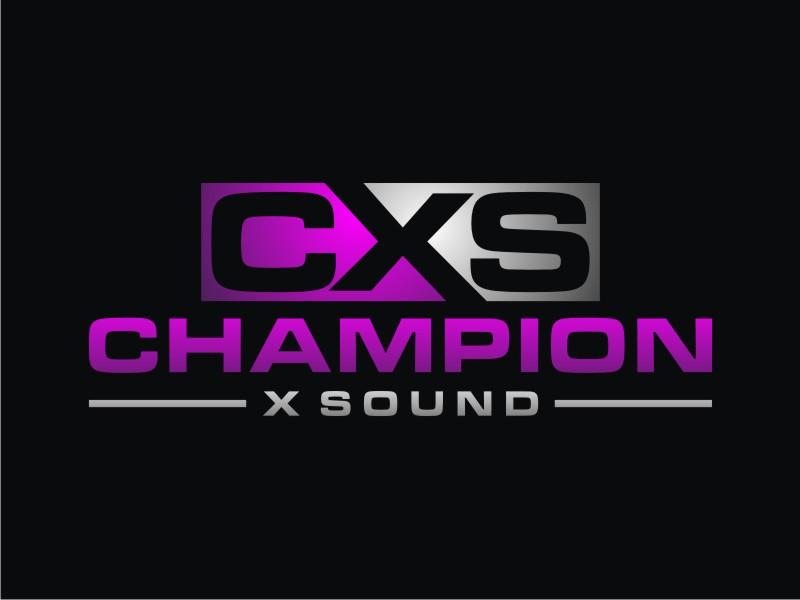 Champion X Sound logo design by Arto moro