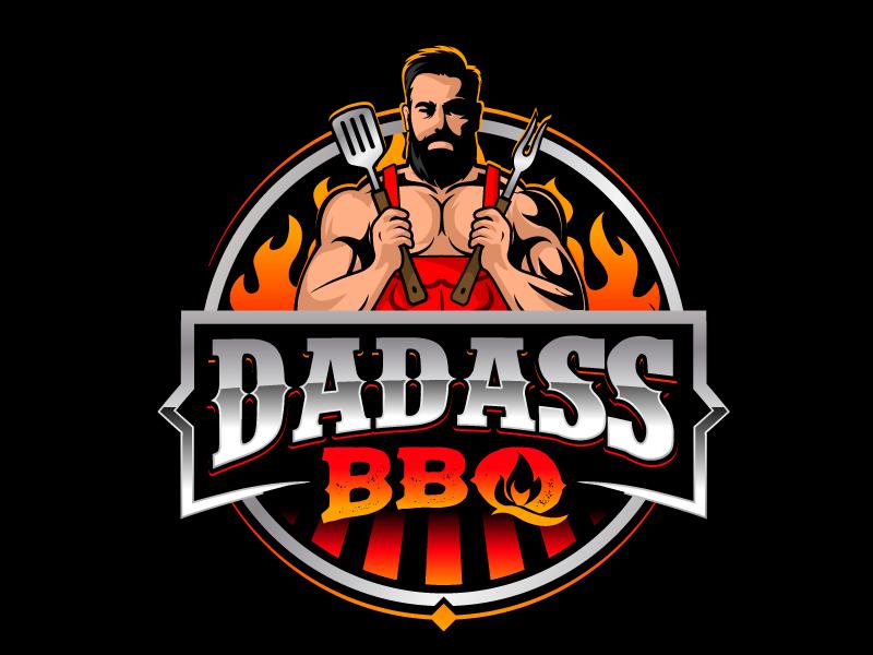 Dadass BBQ logo design by jaize