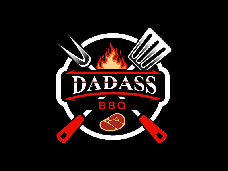 Dadass BBQ logo design by czars