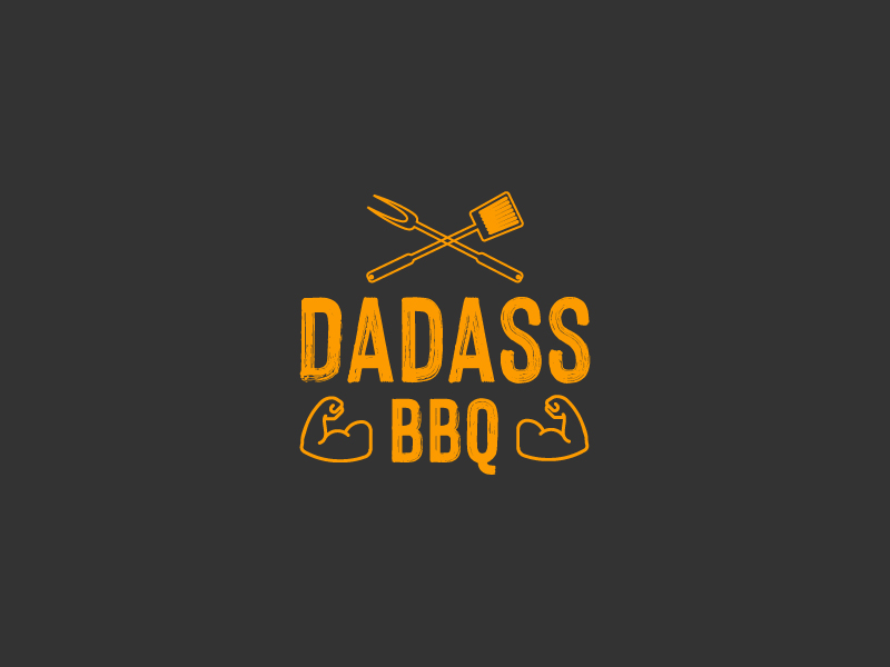 Dadass BBQ logo design by Sami Ur Rab