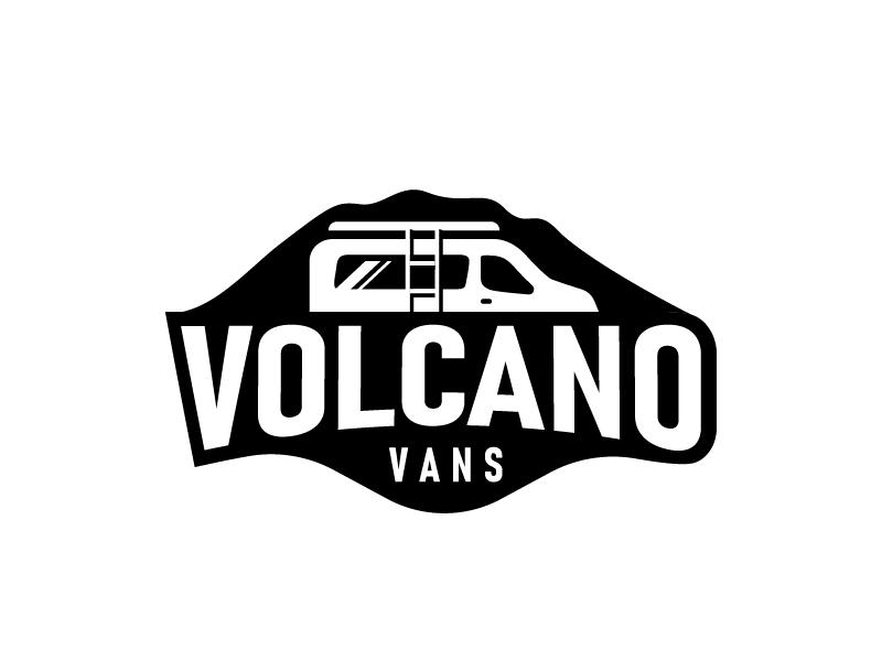 Volcano Vans Logo Design